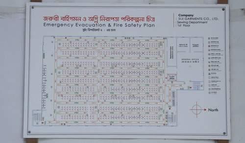 Evacuation Chart